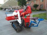 Hot Sell Mini Rice Combine Harvester with Rubber Track