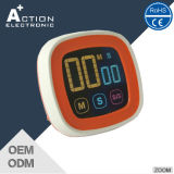 Touch Screen Digital Kitchen Timer with Colorful Screen