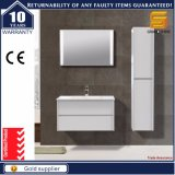 36′′ Modern Wall Hung White Lacquer Bathroom Cabinet with Mirror