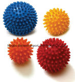 10cm Non-Toxic PVC Hard Body Ball Massage Roller Ball with Spiky