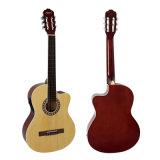 Aiersi Brand Electrical Cutway Lindenwood Body Classical Guitar