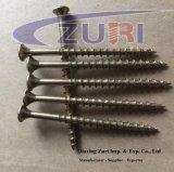 C1022 Steel Hardend Drywall Screws Yellow Zinc 4.8*80