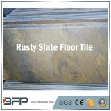 Natural Stone Half Rusty Slate Floor Tile for Ancient Villa