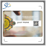 Transparent PVC Card with Qr Code