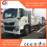 Sinotruk HOWO A7 4X2 High Pressure Road Water Washing Sweeper Truck