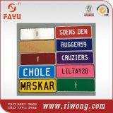 Aluminum Car Name Plates, Decorative Name Plates, Mini Name Plates