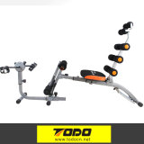 Six Pack Care Exercise Bench with Two Chest Ex-Panders