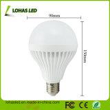 2017 China Supplier LED Plastic Bulb Light Ce RoHS Energy Saving LED Bulb Light High Power E27 15W SMD5730 LED Bulb