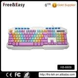 Rainbow Key Multimedia USB Standard Wired Keyboard