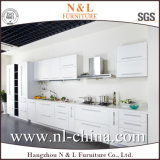 White Color MFC Board Wood Cabinet Kitchen Furniture