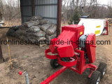 Quad/UTV/Side X Side Towable 6.5HP Engine Powered Branch Logger/Wood Chipper/Wood Chopper with Capacity 60-130mm Length, 60-80cm Dia Cutting