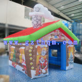 Large Giant Outdoor Inflatable Christmas Funny Decorations House Bouncy House Bouncer Bouncy Castle Jumper Jumping Castle