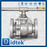Didtek API 6D Stainless Steel CF3m Flange Ends 3 Way Ball Valve