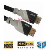 High Speed with Ethernet, 4k, 2160p, HDMI Cable