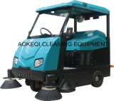 Industrial Floor Cleaning Machine Ride on Road Sweeper