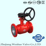 GOST Fully Welding Flanged Ball Valve with Hexagonal Screw