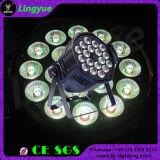 DMX Stage PAR 64 LED 18X18W 6in1 LED PAR