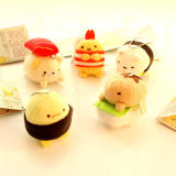 Custom Sushi Keychain Plush Toy