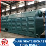 Waste Wood Biomass Boiler with Corrugated Pipe