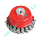 Cup Brushes, Wire Brush Knotted (WB-004)