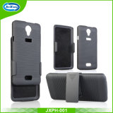 Hybrid Dual Layer Protector Phone Case Cover for Haier L52