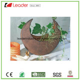 Metal Garden Product Hanging Flowerpot with Rustic Color Finished