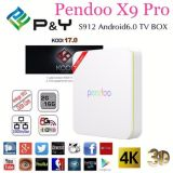 2016 Best Selling Android HD Videopendoo X9 PRO2g 16g Cable Set Top Box Kodi 17.0 TV Box