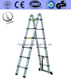 En 131 Aluminium Ladder of 6steps Double Stright
