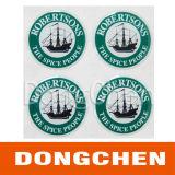 Top Quality Best Price Custom Waterproof Adhesive Epoxy Sticker