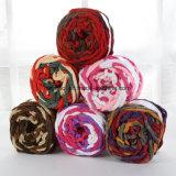Acrylic Fancy Yarn for Towel Soft Coral Velvet Hairy Fluffy Yarn