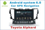 Android System Navigation GPS Car DVD for Toyota Alphard with Bluetooth/TV/WiFi/MP4