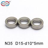 N35 Ring Neodymium Permanent NdFeB Magnet with Super Power