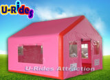 Pink Inflatable Cabin Tent for Kids