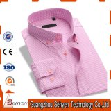 New Arrival Long Sleeve 100%Cotton Formal Dress Shirt for Men