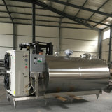 Sanitary Stainless Steel Fresh Milk Cooling Storage Tank