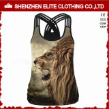 Latest Design Fashion Sublimation Printing Tank Tops for Women (ELTCI-61)