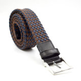 Braided PU and Rope Material Men Belts with Alloy Buckle