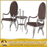 Luxury Stainless Steel Leisure Chair