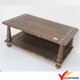 Fsc Shabby Chic Antique Vintage Industrial French Country Wooden Coffee Table