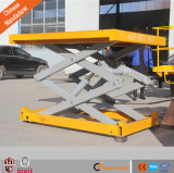 1-100t Load (customized) Hydraulic Stationary Goods Lift for Crane