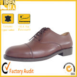 China Cheao Factory Price Genuine Leather Army Safety Footwear Military Office Shoes
