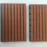 Sound Absorbing Grooved MGO Type Acoustic Panel