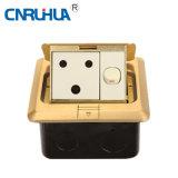 British 15A Switch& One-Way Floor Socket B120-15A