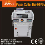 R670 Series 670mm A3 A4 Hydraulic Programs Control Paper Cutting Machine with Bigger Size