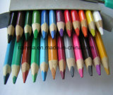 Triangle Color Pencil for Stationery Supply
