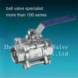 3PC Stainess Steel Floating Ball Valve (BV)