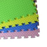 Waterproof Colorful EVA Foam Floor Mats--Leaf Texture