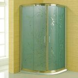 Luxury Manual Carving Art Glss Bathroom Shower Cabin (A-209A)
