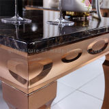 Luxury Style Modern Marble Top Side Table