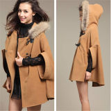 Korean Style Fashion Winter Warm Cloak Outwear (50031-2)